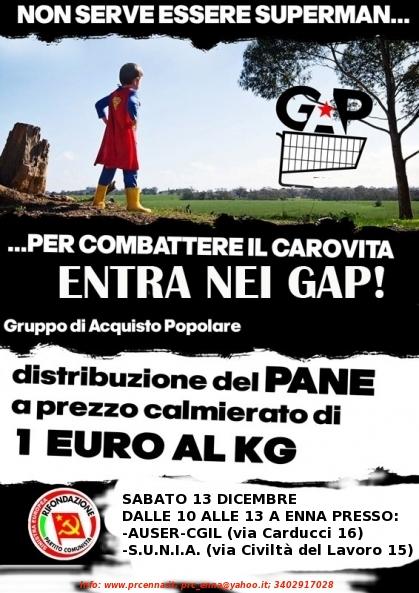 locandina GAP Enna